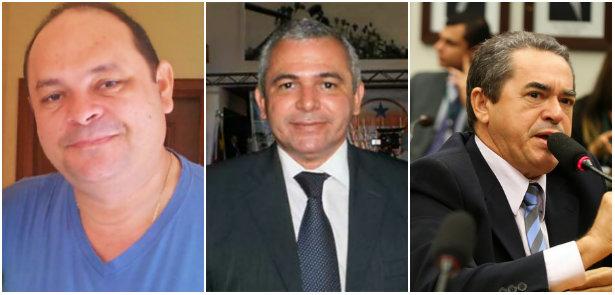 Reeleição. Von, Nélio e Maia