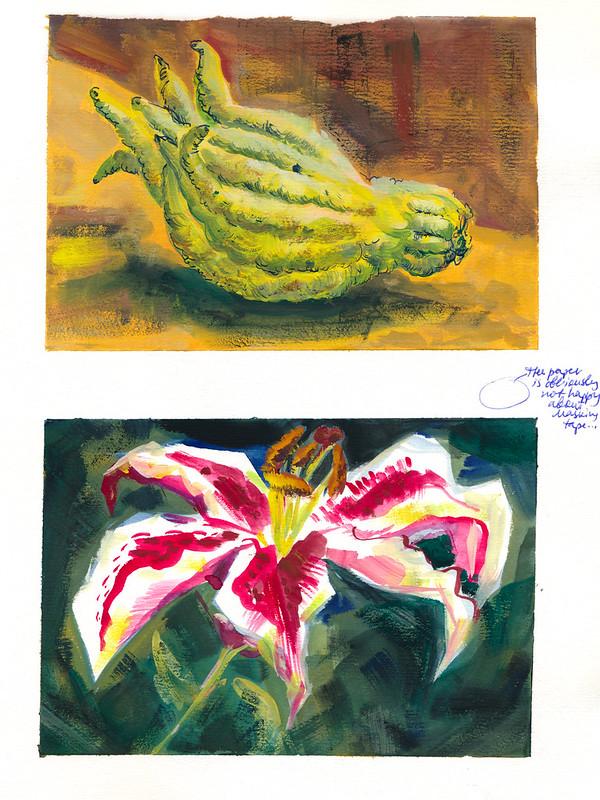 Sketchbook #94: Gouache