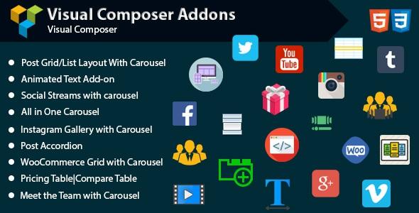 Codecanyon Saragna v1.0 - Visual Composer Addons