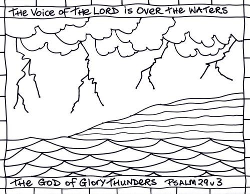 Epiphany 1C - psalm 29