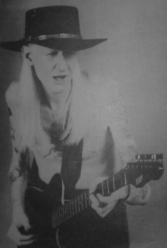 Johnny Winter playing ESP Mirage