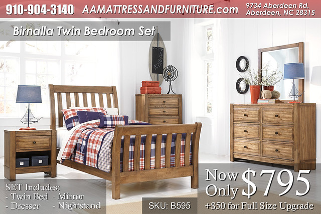 Birnalla Bedroom Set WM