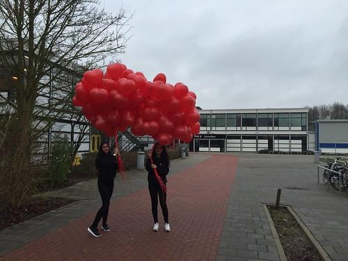 Heliumballonnen Valentijn Hartballonnen Penta Collega Scala Rietvelden Spijkenisse
