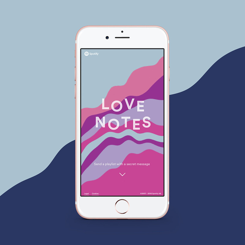 Spotify Love Notes 1