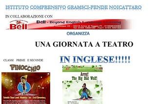 Noicattaro. Teatro inglese Gramsci-Pende front