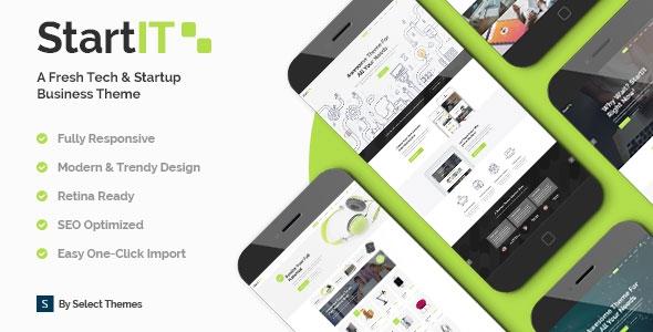 Startit v1.4.1 - A Fresh Startup Business Theme