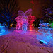 Ice Sculpture at Night by Marcel Mason