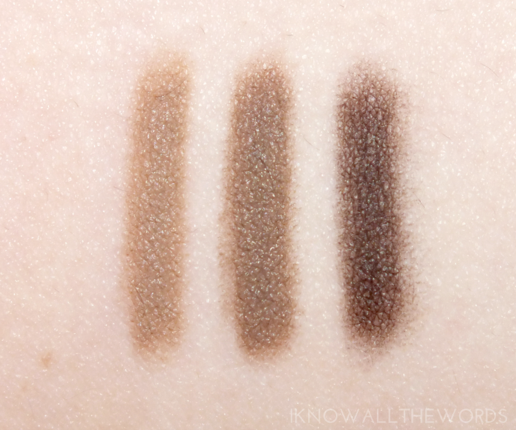 maybelline brow drama pomade crayons blonde, soft brown, and deep brown (3)
