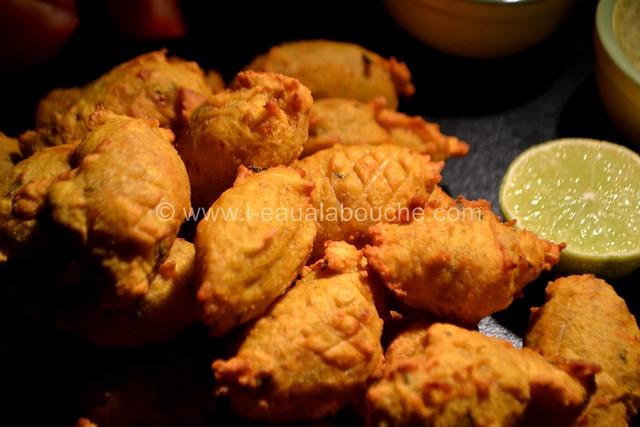 Beignets à la Courge © Ana Luthi Tous droits réservés