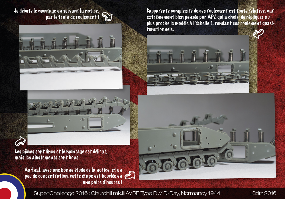 Ludtz // Super Challenge 2016 // Churchill AVRE Carpet Layer AFV Club + Bren Carrier Tamiya 1/35 24892111402_d547b5bda0_o