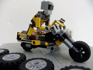 Motorbike & sidecar 2