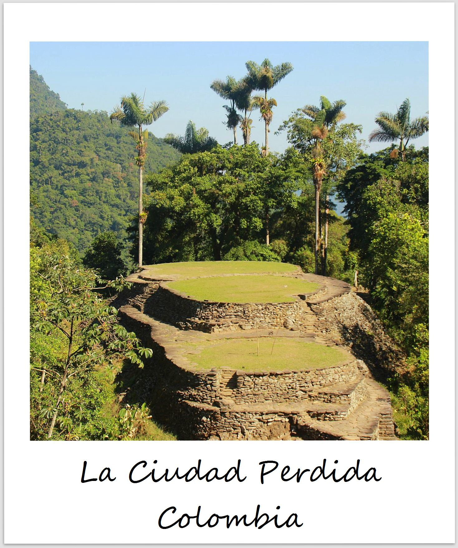 polaroid of the week colombia ciudad perdida
