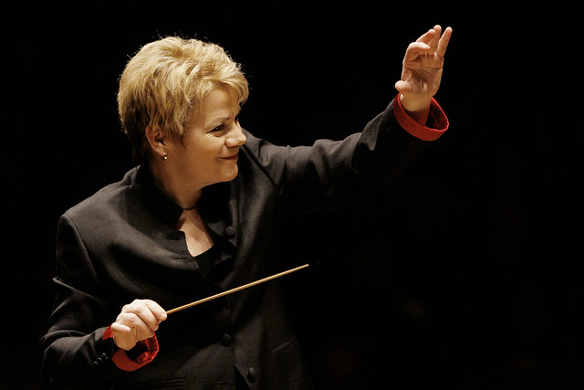 Marin Alsop in Baltimore 2008 © Grant Leighton