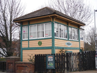 Signal Box at Uckfield station