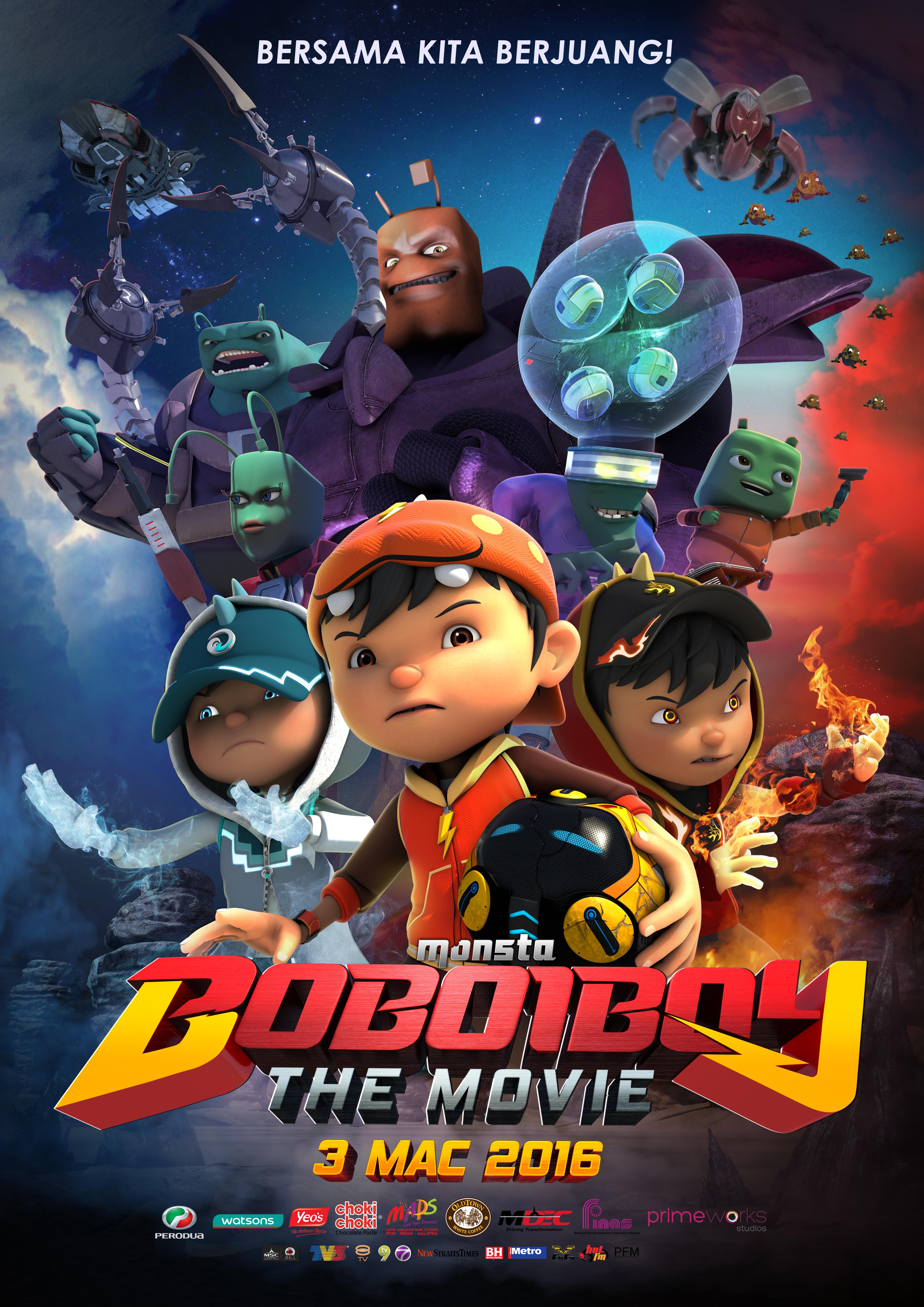 Filem Boboiboy The Movie Poster