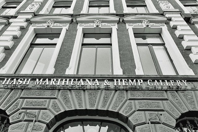 Hash Museum Amsterdam, First roll of film (Tri-x) on the Nikon FM2 Amsterdam