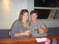 Dee and Ruth at the James Squire pub
