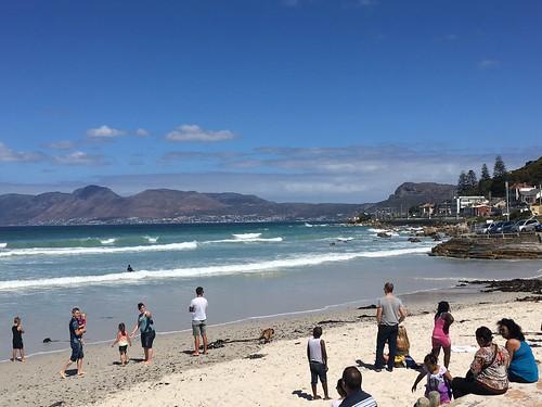 Muizenberg Beach Scene