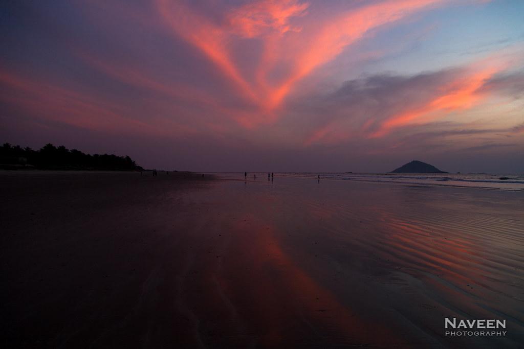 Sunset at Jali Beach | Bhatkal