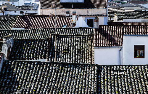 Spain - Huelva - Cumbres Mayores - Roofs and Tiles