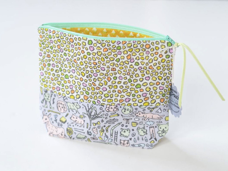 Mini Cloud-Puffs + Doodletown Pouch