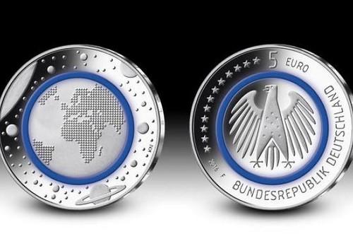 У Німеччині випустили монети номіналом 5 євро