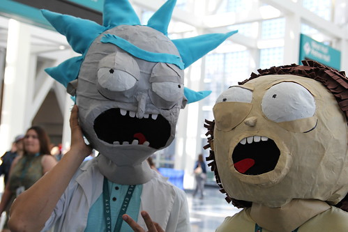 Wondercon 2016 - Rick and Morty Cosplay