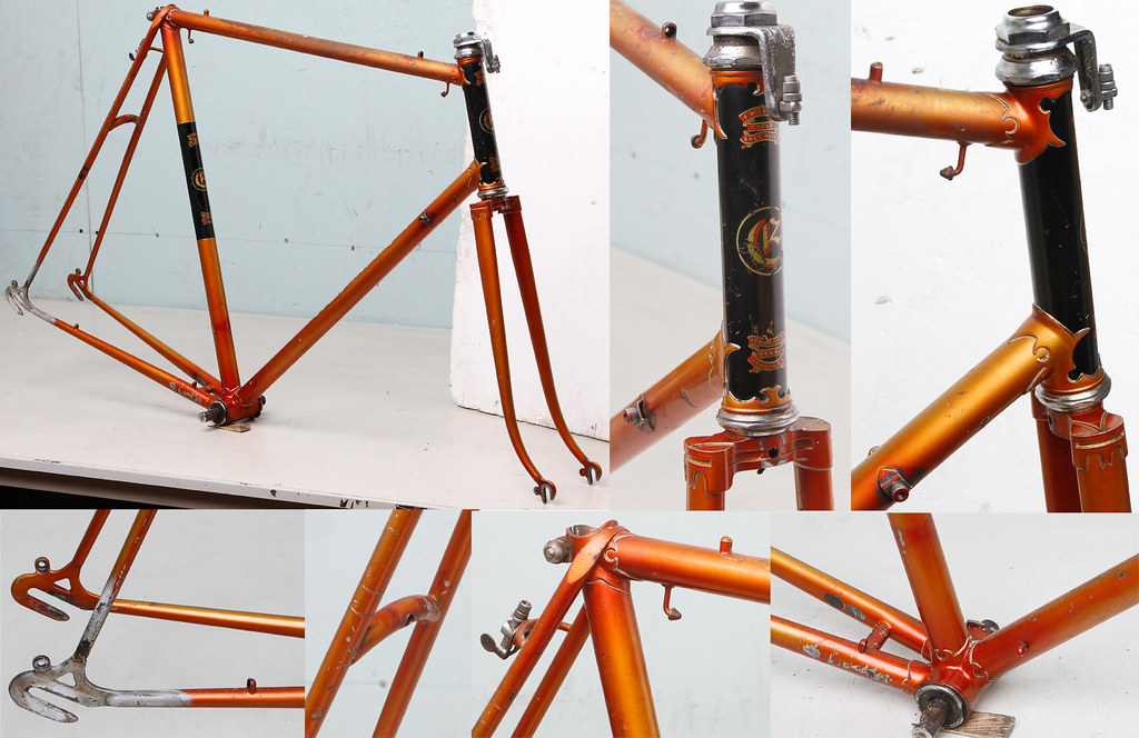 English frame: FW Evans 50s or 60s - Bike Forums