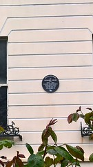 Photo of Howard Grubb black plaque