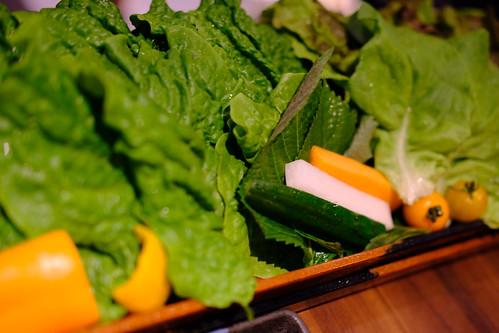 15種の減農サンチュ 韓菜園 焼肉 本家 Ponga 05