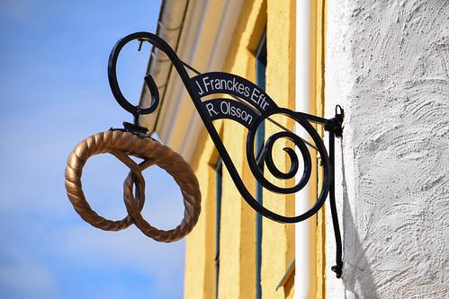city sign se sweden sverige cityview trelleborg skyltdocka skånelän