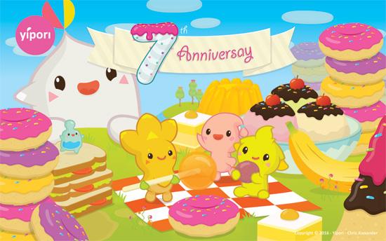 7 year anniversary!