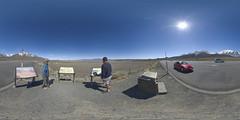 Vista Point Off Highway 395, Crowley Lake, Mono County, California
