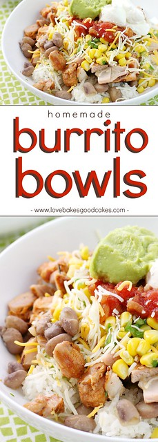 Now you can easily make your favorite Burrito Bowls at home! Full of flavor, it's the perfect quick weeknight dinner idea! AD