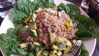 Quinoa Salad at Intercontinental High Tea