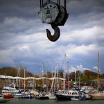 Hanging at Preston Docks