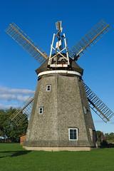 Windmühle Steinhagen (Rückseite)