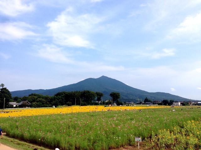 Mt. Tsukuba from Akeno