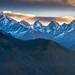 Panchchuli at Dawn by Motographer