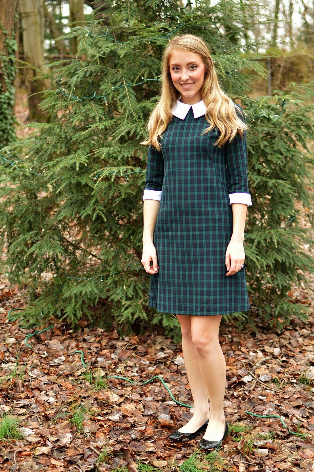 christmas plaid simplicity 7737 | allie J. | alliemjackson.com