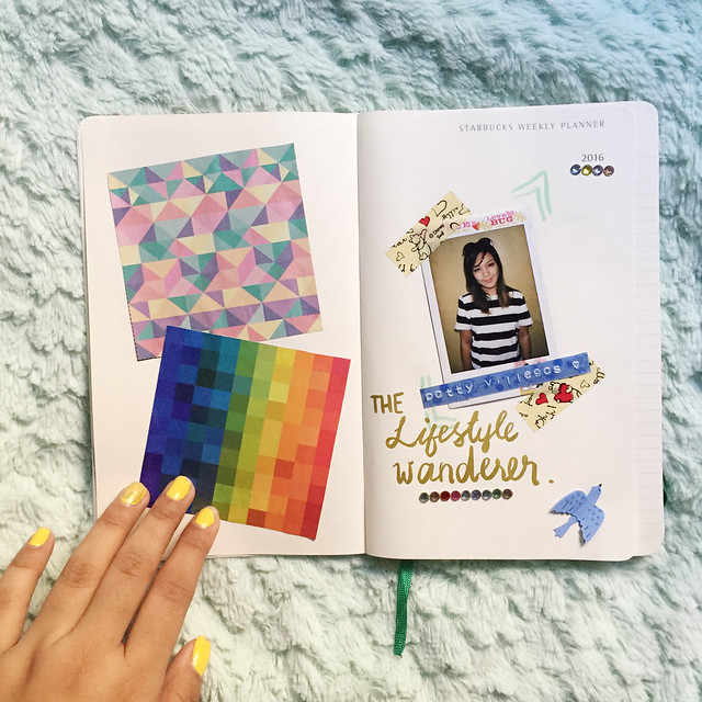 Patty Villegas - Starbucks Moleskine Weekly Planner 2016 -7