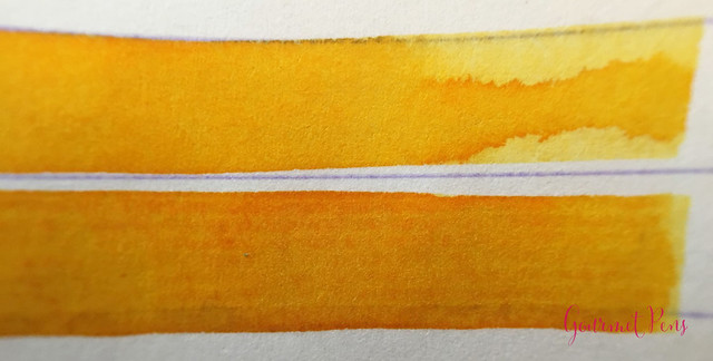 Ink Shot Review Montblanc Golden Yellow @AppelboomLaren @Montblanc_World (6)