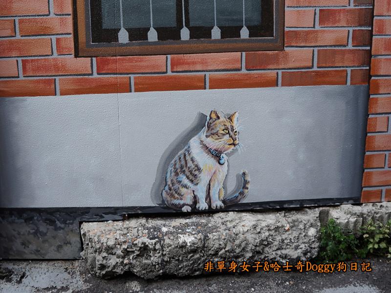台中沙鹿美仁里彩繪巷13