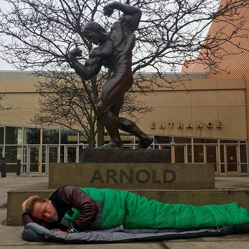 Шварценеггер вдавав бездомного
