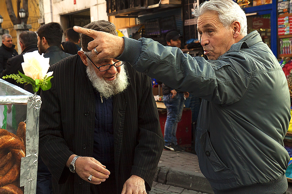 Street scene on 12-19-15--Istanbul