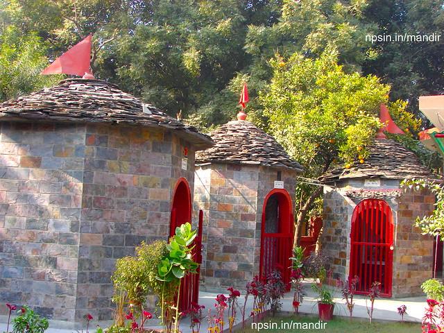 Pratham Shri Ganesh Ji, Shri Bhairav Dev, Shree Golu Haru - Swim Dev