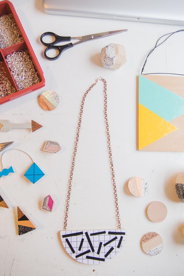 Lucie Ellen handmade wooden jewellery