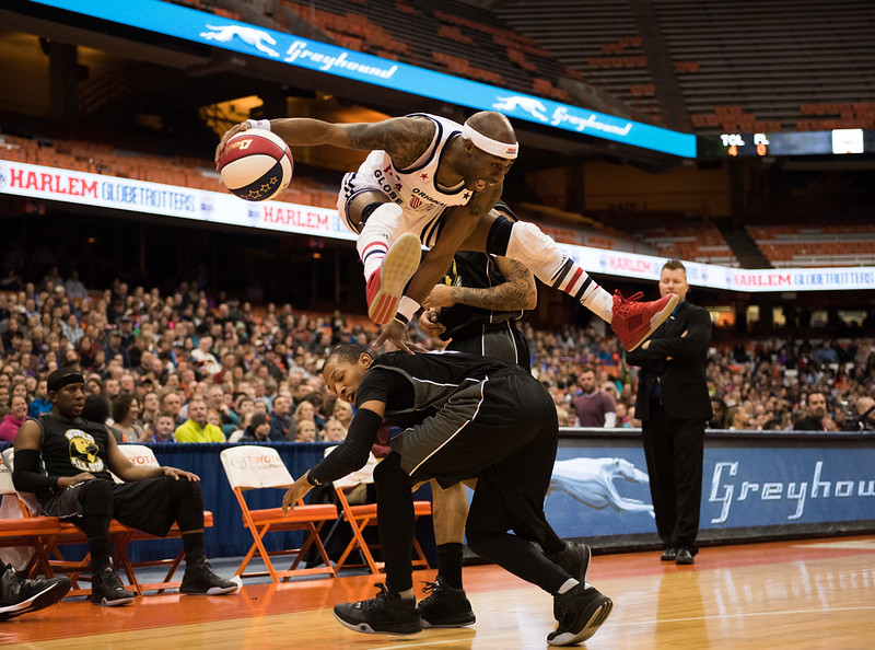 Harlem Globetrotters at the Carrier Dome