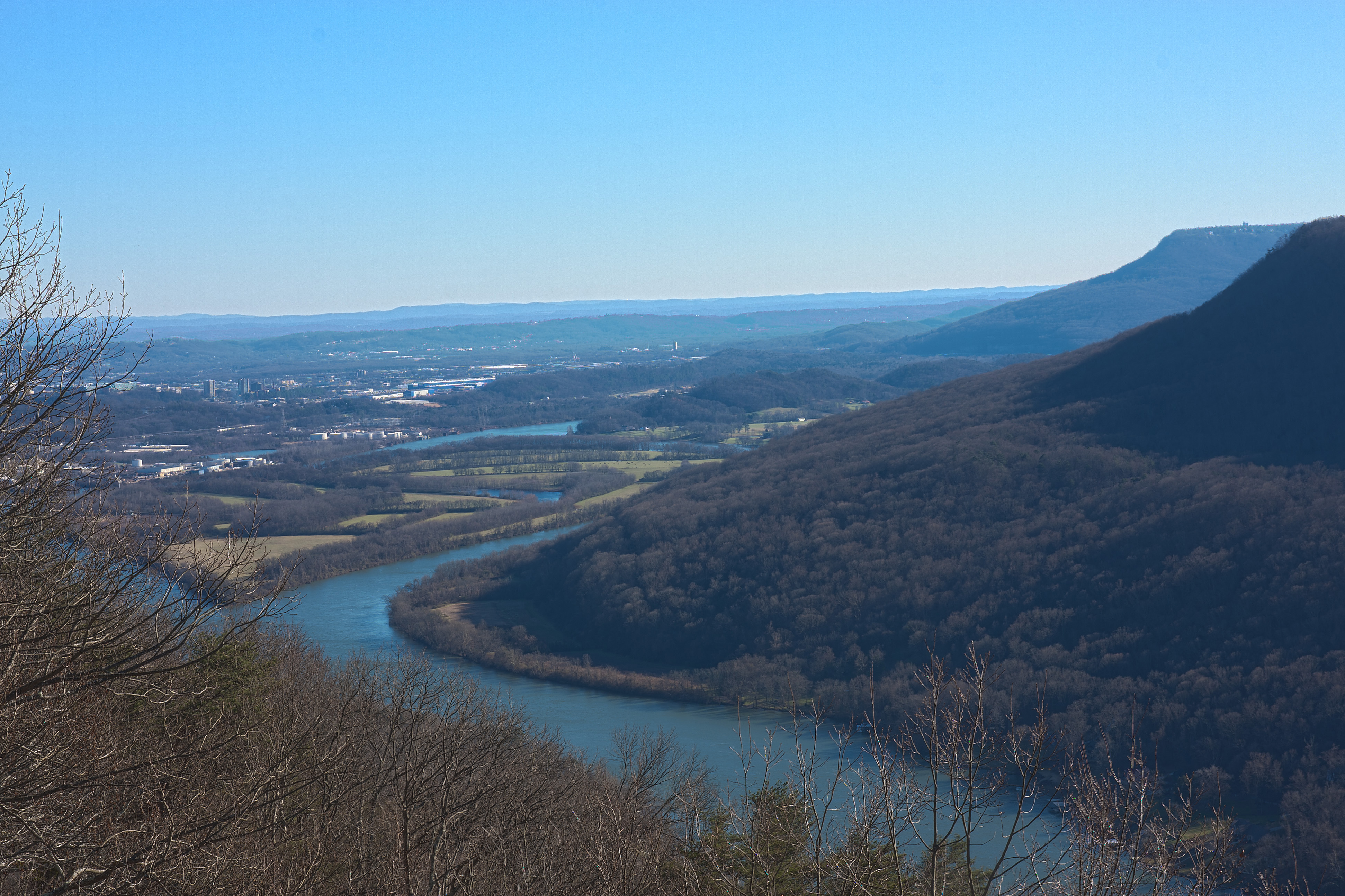 Elevation Of Moccasin Bend Chattanooga Tn Usa