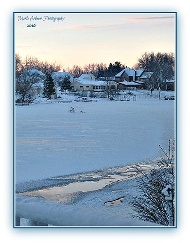 houses winter snow wisconsin sunrise canon river channel snowcovered foxlake picmonkey